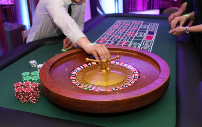ruletka, mobilne kasyno, żetony